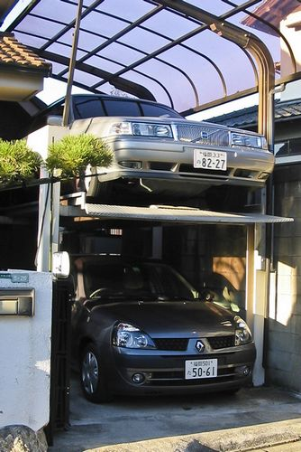 Japanese Car Elevator Image