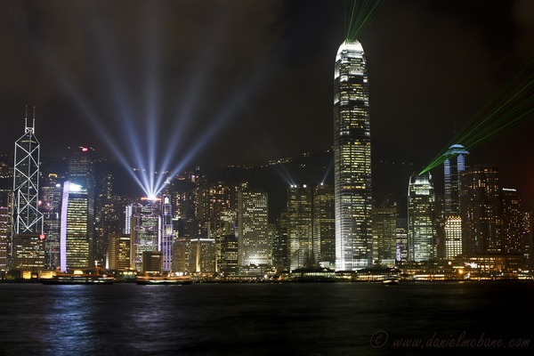 Hong Kong Skyline from Kowloon