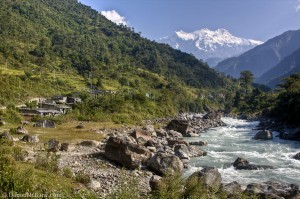 River Annapurna Circuit Besisahar