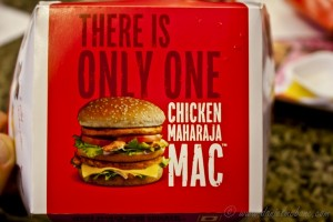 Chicken Maharaja McDonalds India