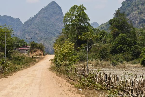 Dirt Road Laos Motorbike Loop