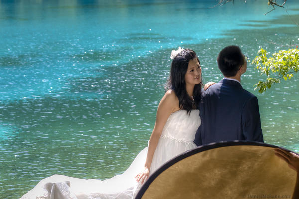 Turquiso Lake Wedding