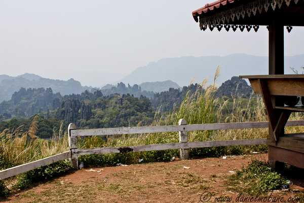 Hin Poun Viewpoint Laos