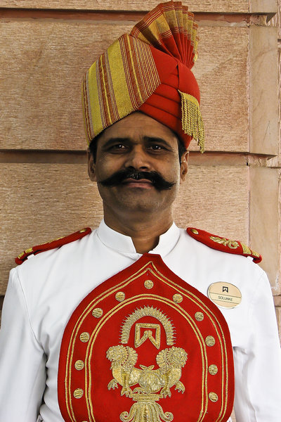 Indian Hotel Bellhop