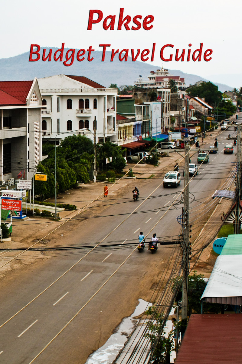Budget travel guide for Pakse in Laos