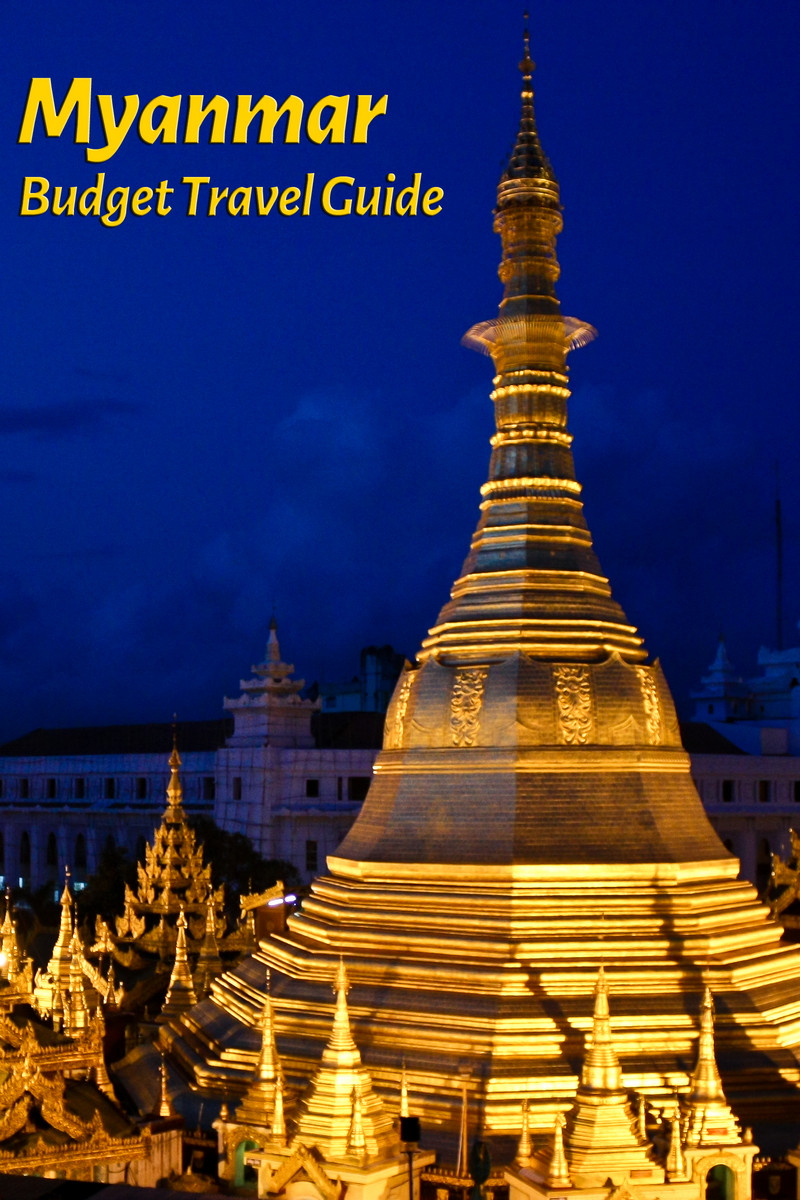 Budget travel guide for Myanmar