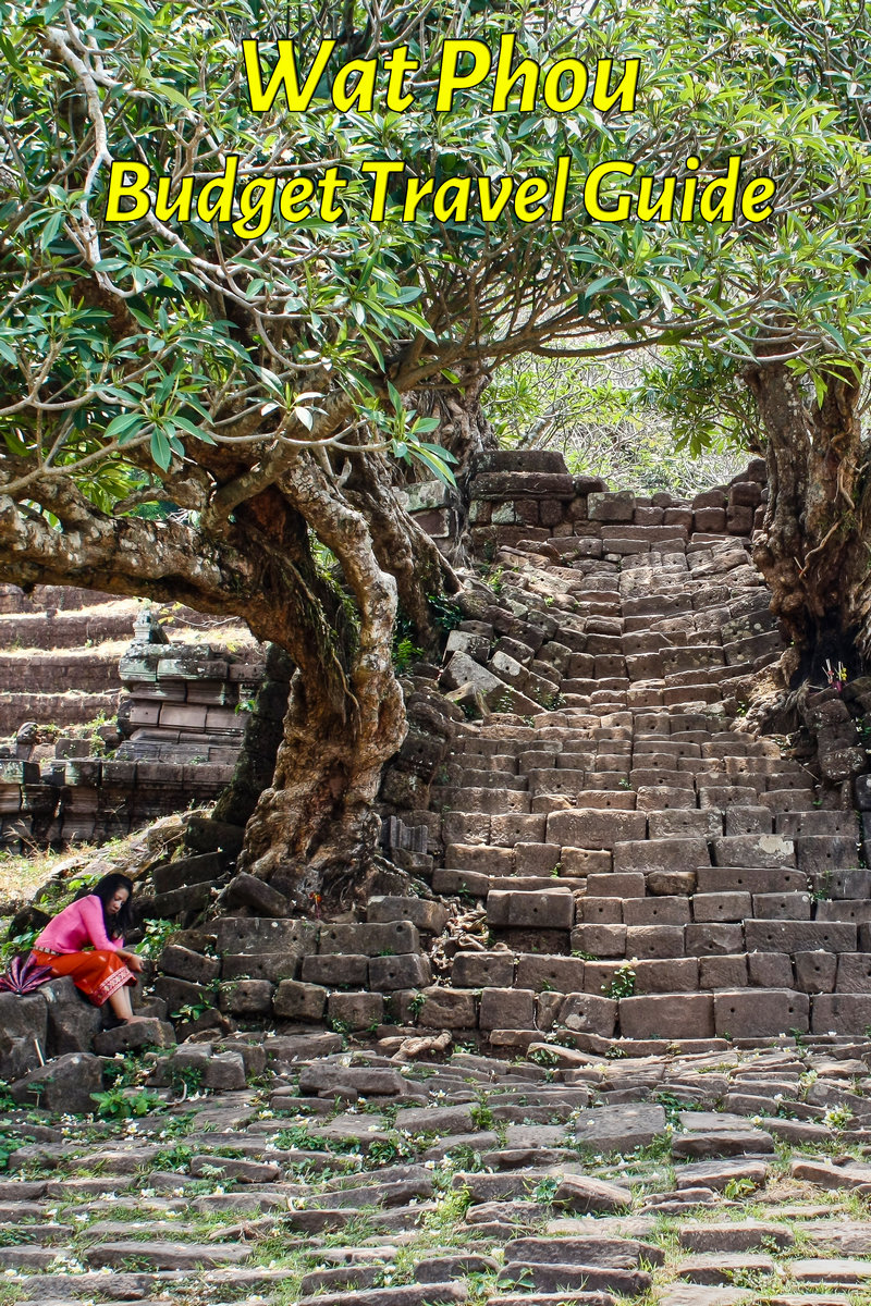 Budget travel guide for Wat Phou in Laos