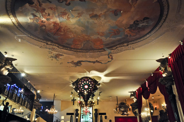 Ceiling Painting Christon Cafe