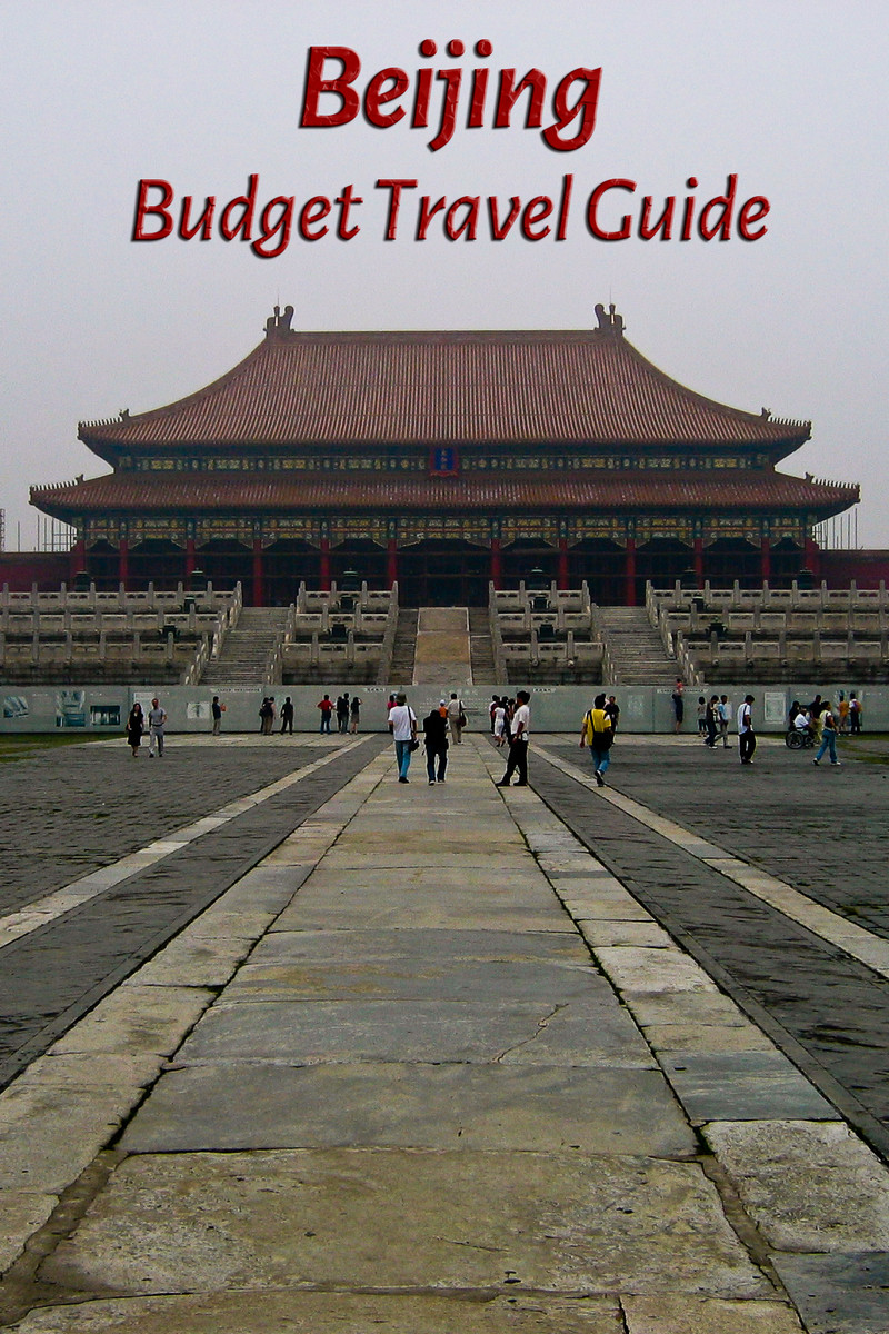 Budget travel guide for Beijing in China