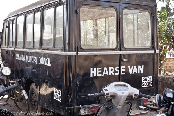 Hearse Van Goa India