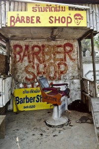 Would You Get a Haircut at this Vang Vieng Barbershop?