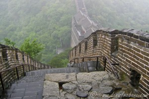 Climbing the Great Wall of China Is Not For Drunkards