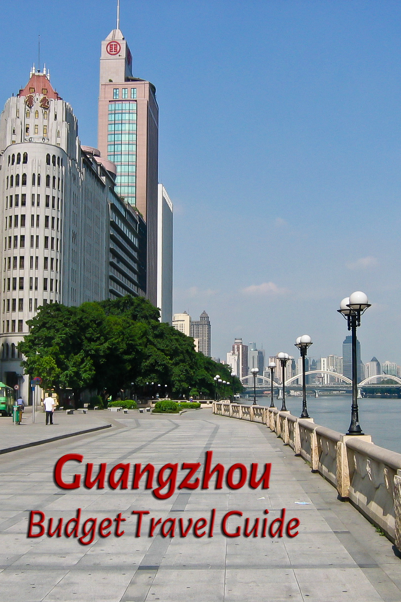 Budget travel guide for Guangzhou in China