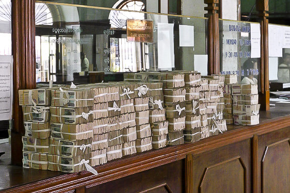 Bricks of Burmese Bills