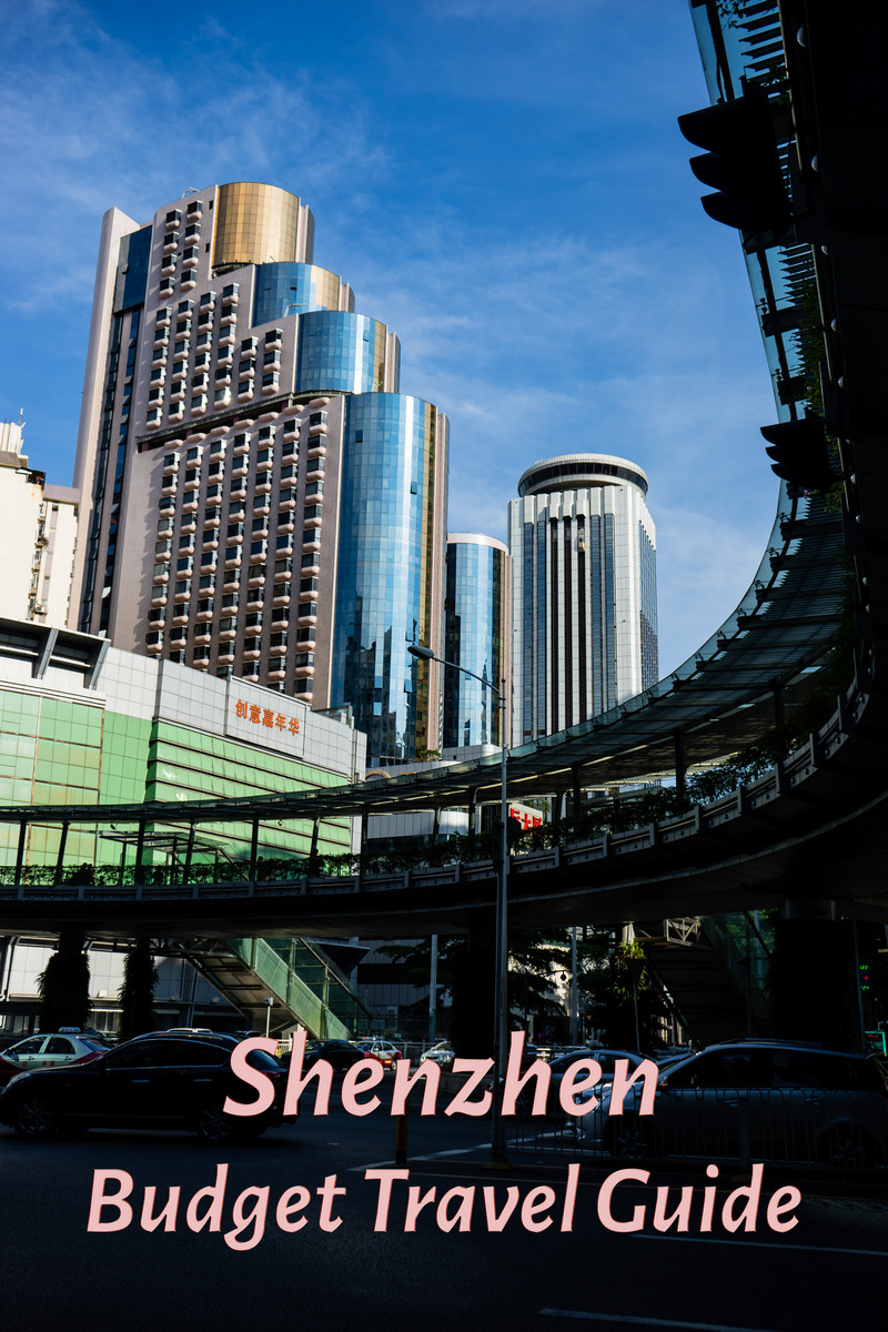 Downtown Luohu in Shenzhen China