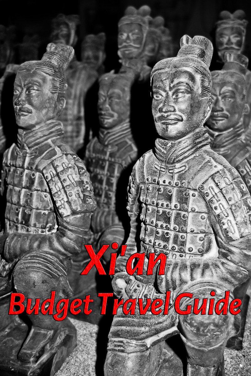 Budget travel guide for Xian in China