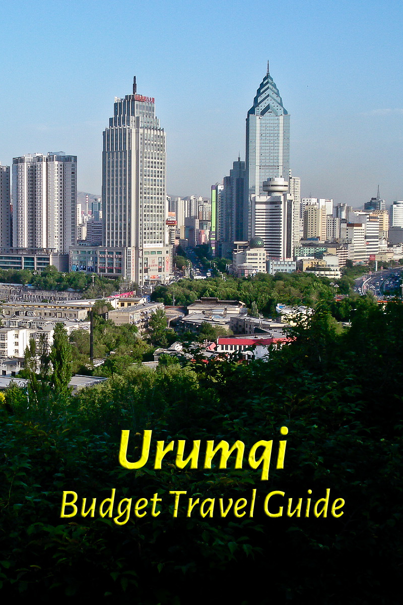 Budget travel guide for Urumqi in China