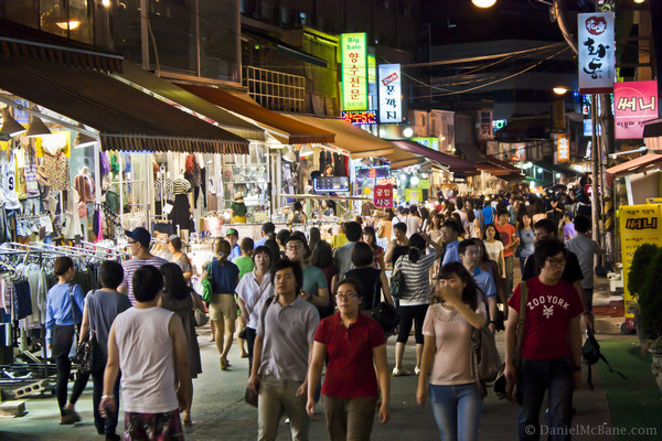 Hongdae Nightlife Seoul