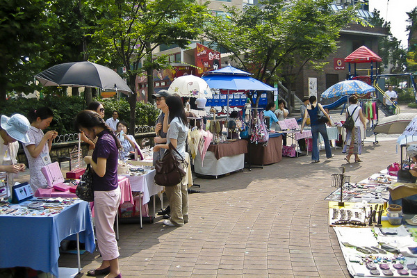 Vendors Hongdae Children's Park