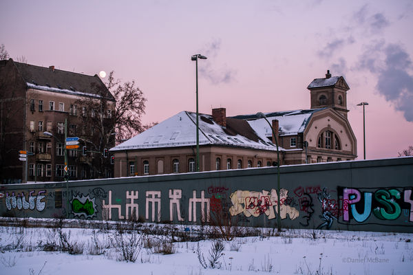 Snowy Berlin in Winter