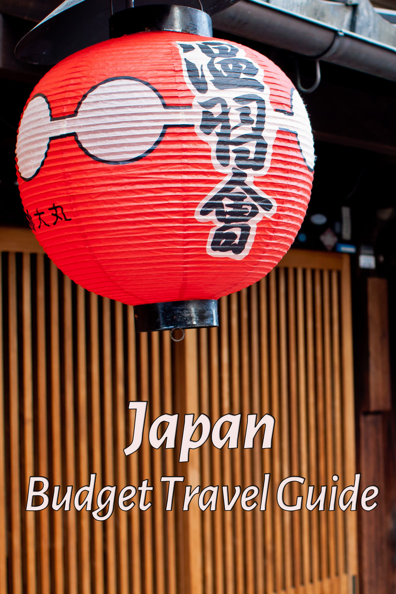Budget travel guide for Japan