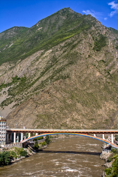 Bridge in Danba Sichuan