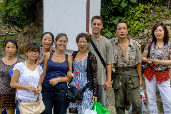 Chinese Tourists in Jiaju Village