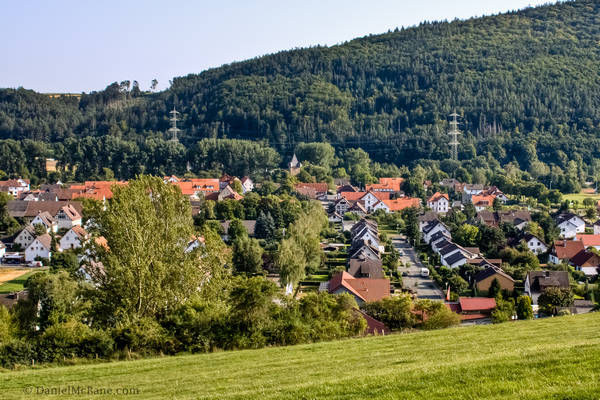 Affoldern Rural Hessen