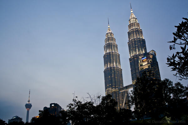 Petronas and KL Tower