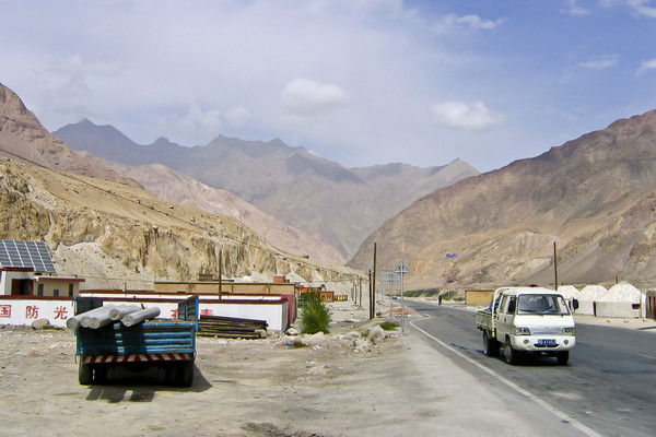 Military Checkpoint Karakorum