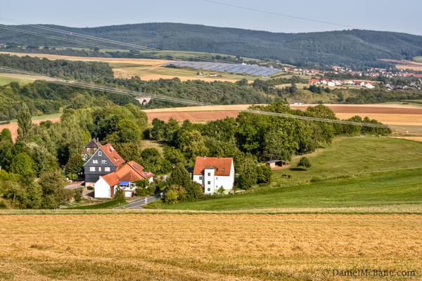 Edertal Farmland Germany