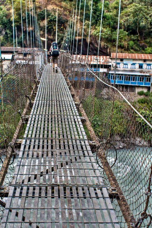 Annapurna Circuit Bridge