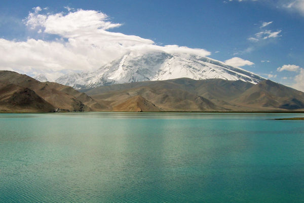 Mountain Karakul Lake