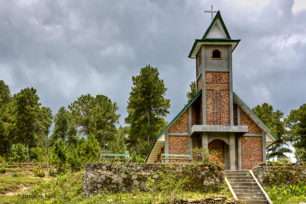 Church on Samosir Island in Lake Toba