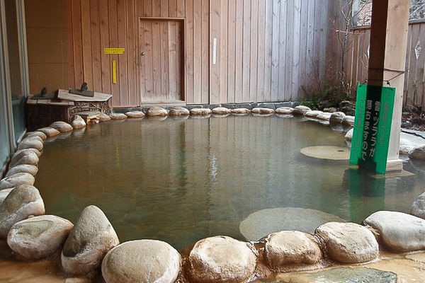 Indoor Onsen in Japan