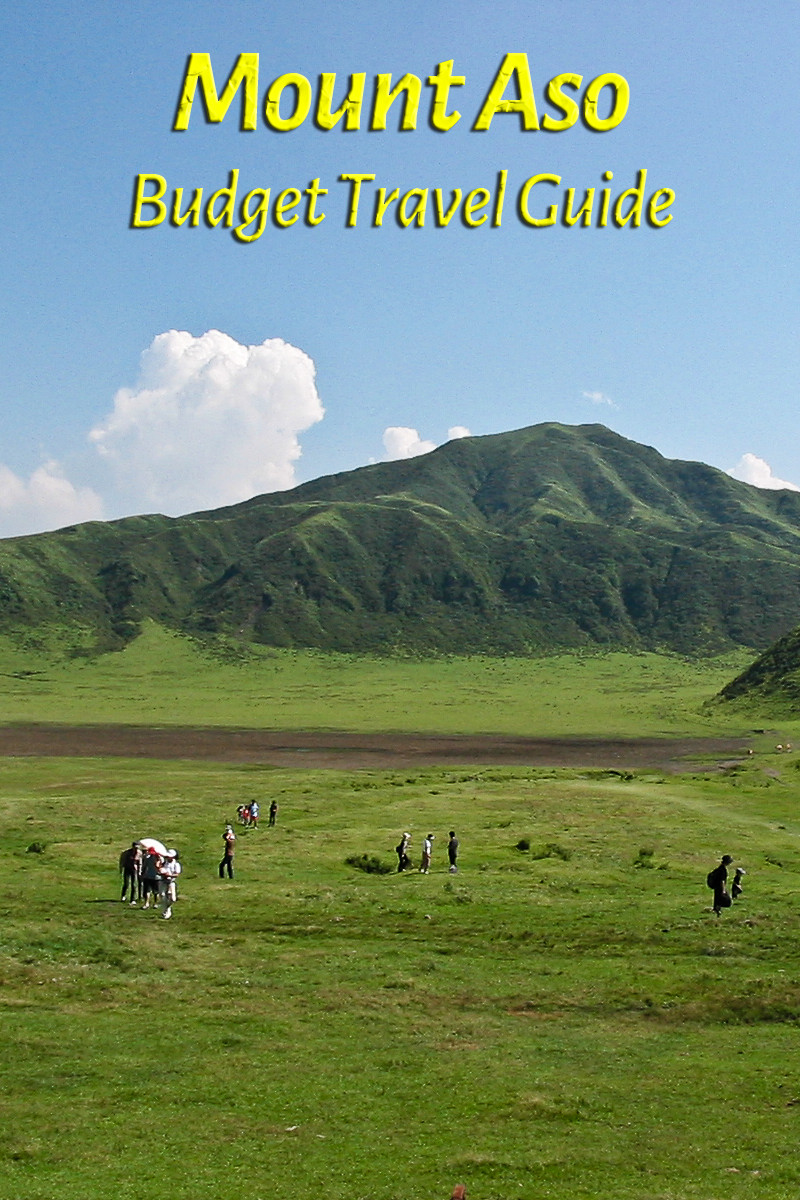 Budget travel guide for Mount Aso in Japan