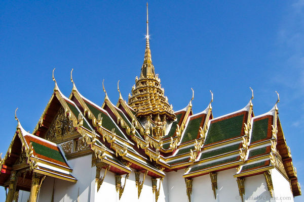 Rooftop in Grand Palace, Bangkok