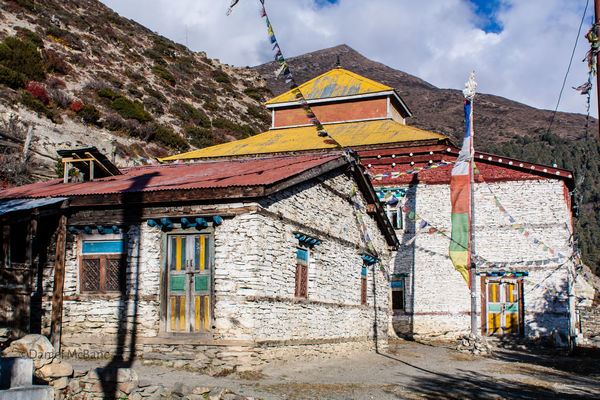 Temple in Ngawal, Annapurna Circuit, Nepal