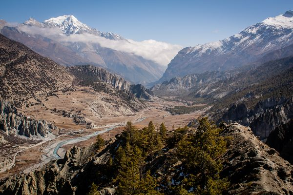 The Manang Valley on the Annapurna Circuit Trek