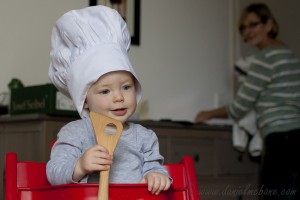 Baby Arik Chef Hat