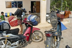 Rural Gas Station Laos