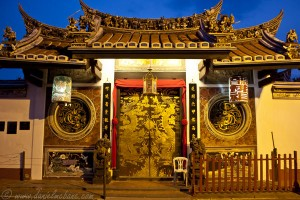 Temple in Malacca's Chinatown