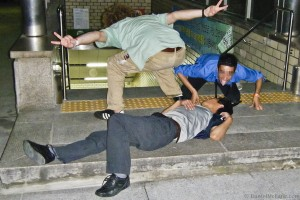 Passed Out Korean At Station